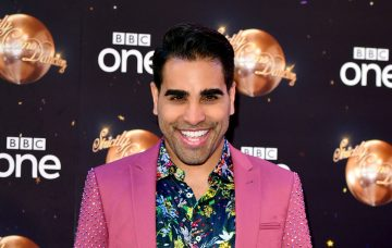 Dr Ranj Singh at Strictly press launch