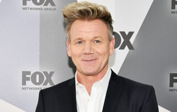 Gordon Ramsay attends the 2018 Fox Network Upfront at Wollman Rink
