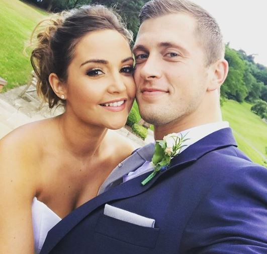 Jacqueline Jossa and Dan Osborne wedding day