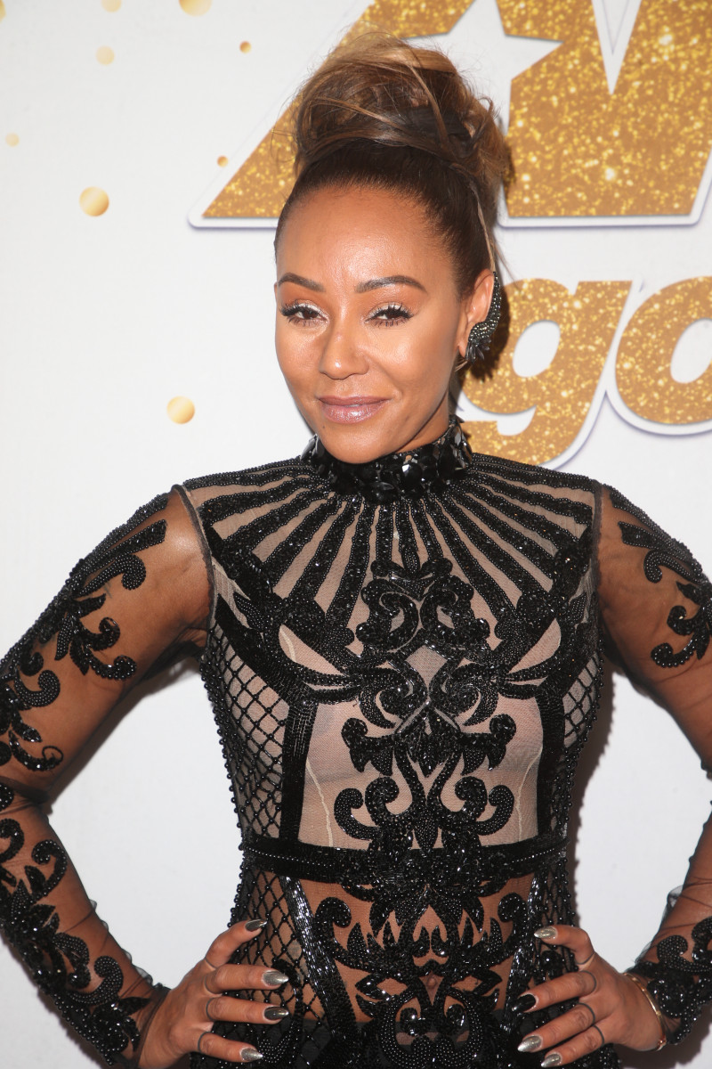 Mel B at the 'America's Got Talent' Red Carpet