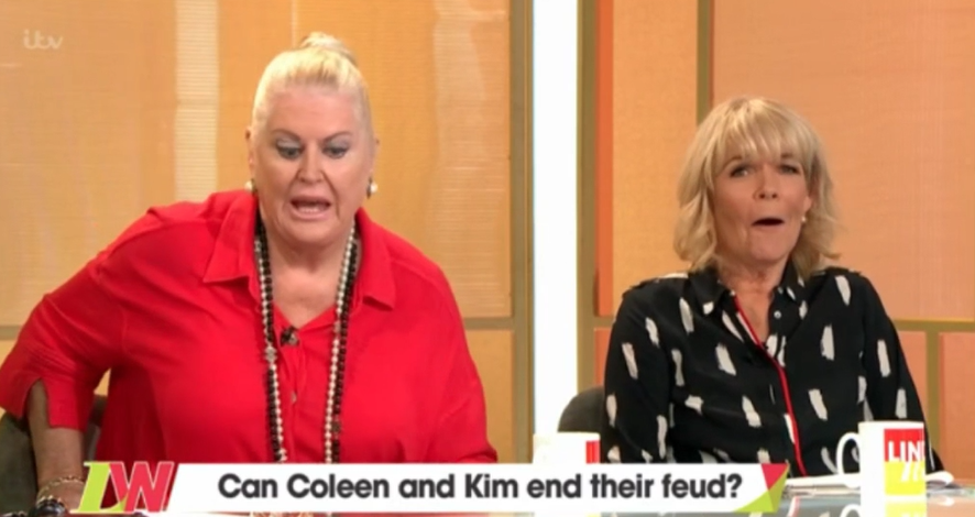 Kim Woodburn and Linda Robson on LW