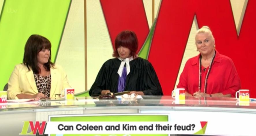 Coleen Nolan, Janet SP and Kim Woodburn on LW