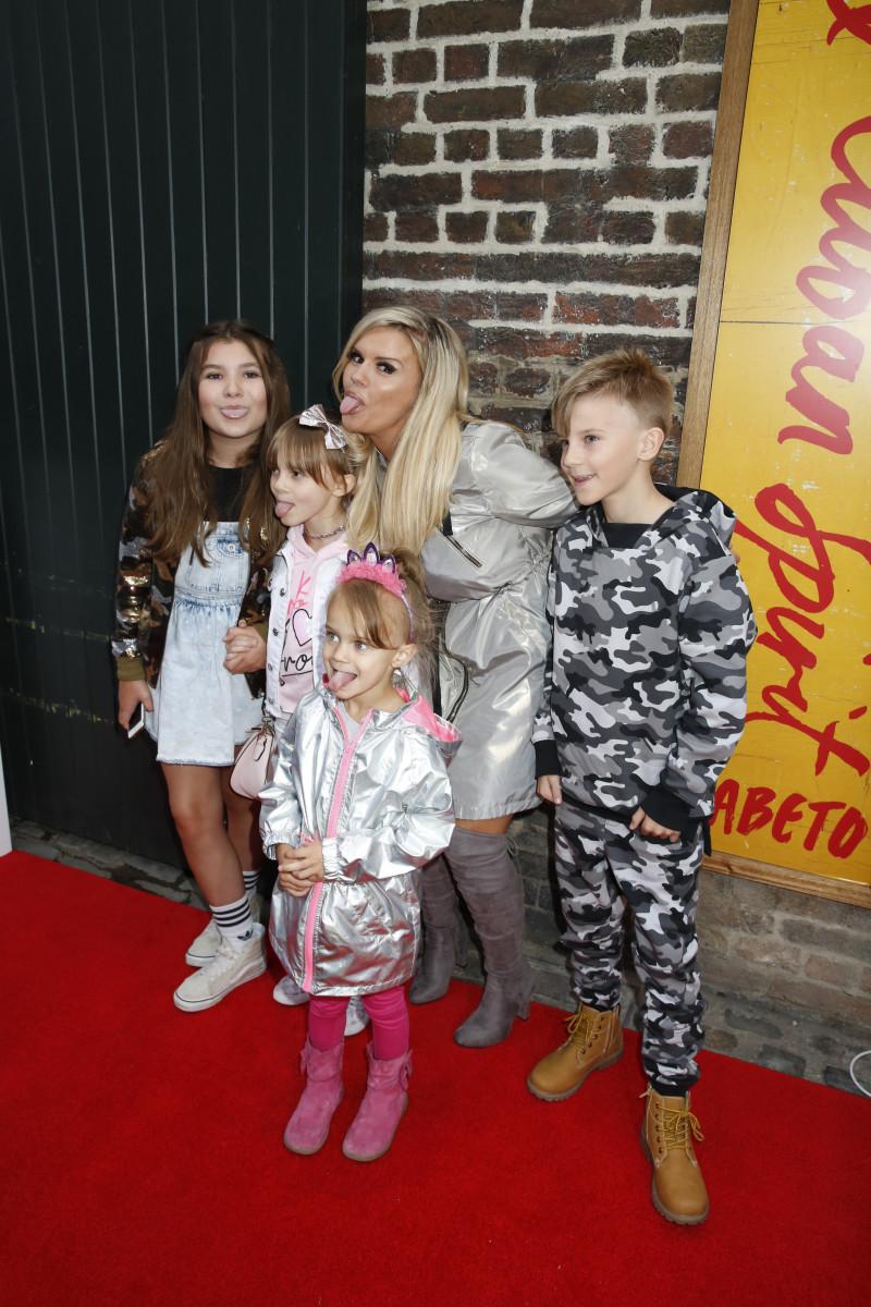 Kerry Katona and her children