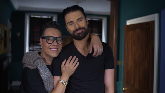Gok Wan and Rylan Clark-Neal on This Morning