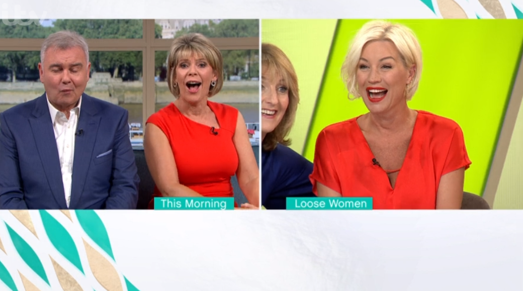 This Morning's Eamonn and Ruth and Loose Women's Denise VO
