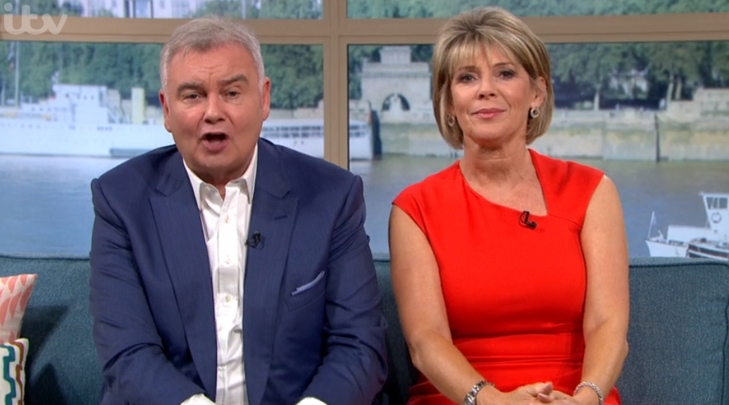 Eamonn and Ruth on TM