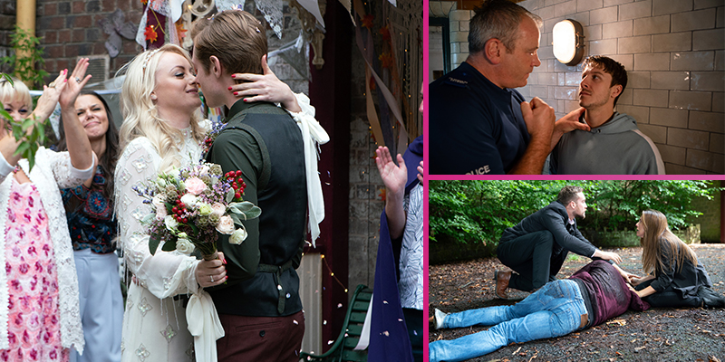 FIRST LOOK: Next week's Corrie in 10 pics