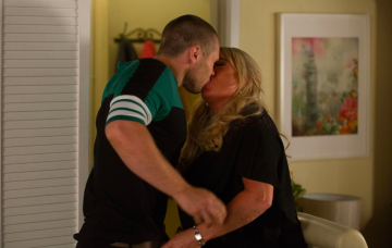 EastEnders SPOILER: Sharon Mitchell nearly caught romping with Keanu Taylor by Louise