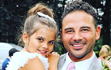 Ryan Thomas' daughter sends sweet message as he battles through CBB hell