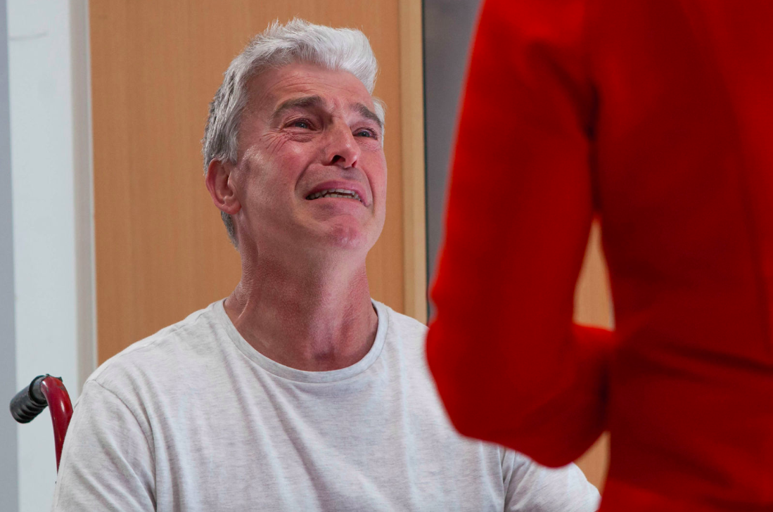 Hollyoaks terror as abuser Mac Nightingale makes a shock recovery and returns to the village