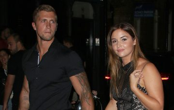 Dan Osborne, Jacqueline Jossa, Celebrities attend the Hang Dr launch party at the Archer Street Cocktail Bar