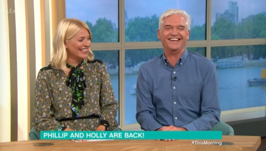 Holly W and Phillip S on TM