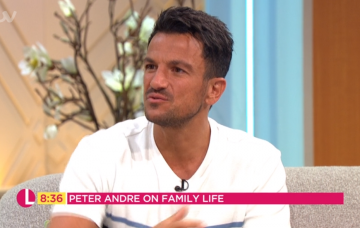 Peter Andre on Lorraine