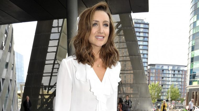 Catherine Tyldesley shares sweet pic of husband and son