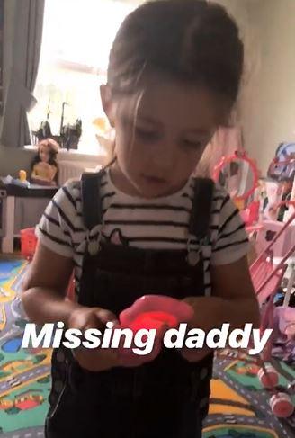 Jacqueline Jossa's daughter calls Dan Osborne in CBB house