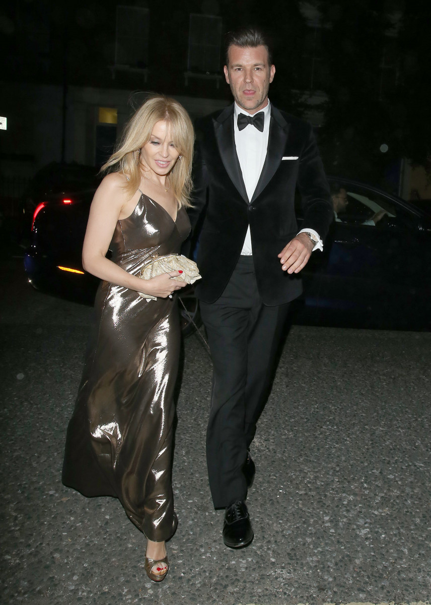 Kylie Minogue and Paul Solomons At the GQ Men of the Year Awards After Party