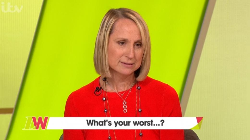 Carol McGiffin forced to change seat on Loose Women