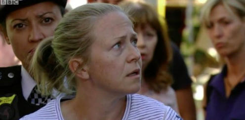 Linda Carter arrested in EastEnders