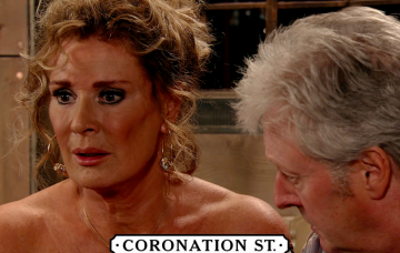 Jim McDonald tells Liz their daughter is alive in Coronation Street