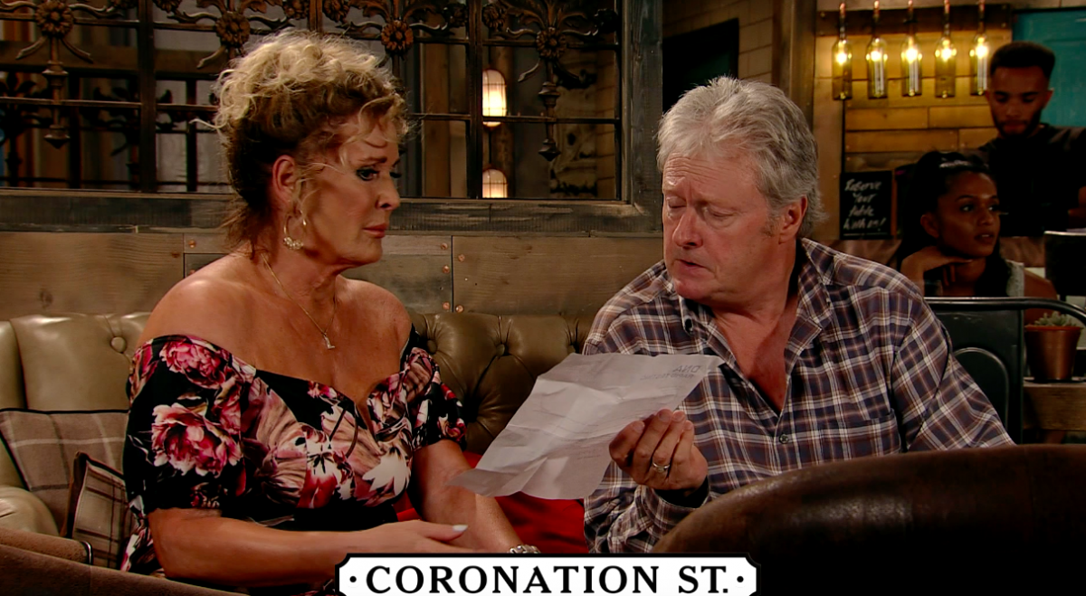 Liz and Jim McDonald in Coronation Street