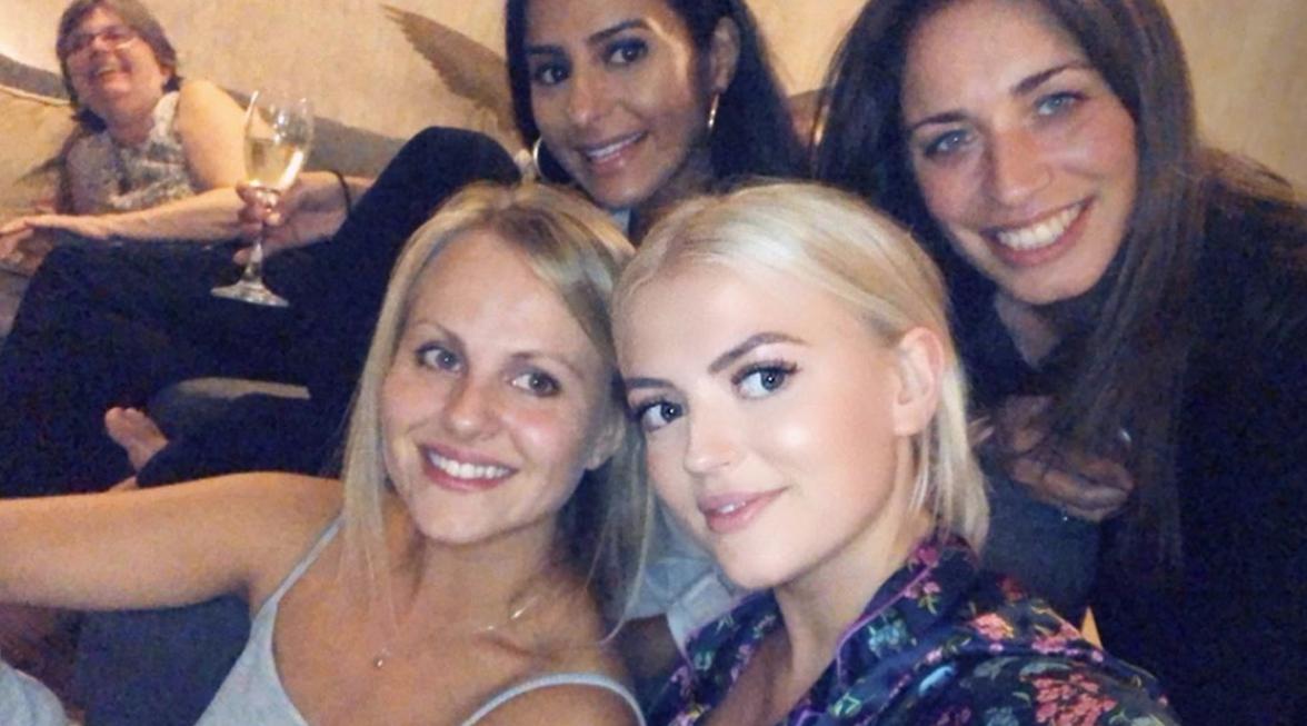 Lucy Fallon Tina O'Brien Instagram