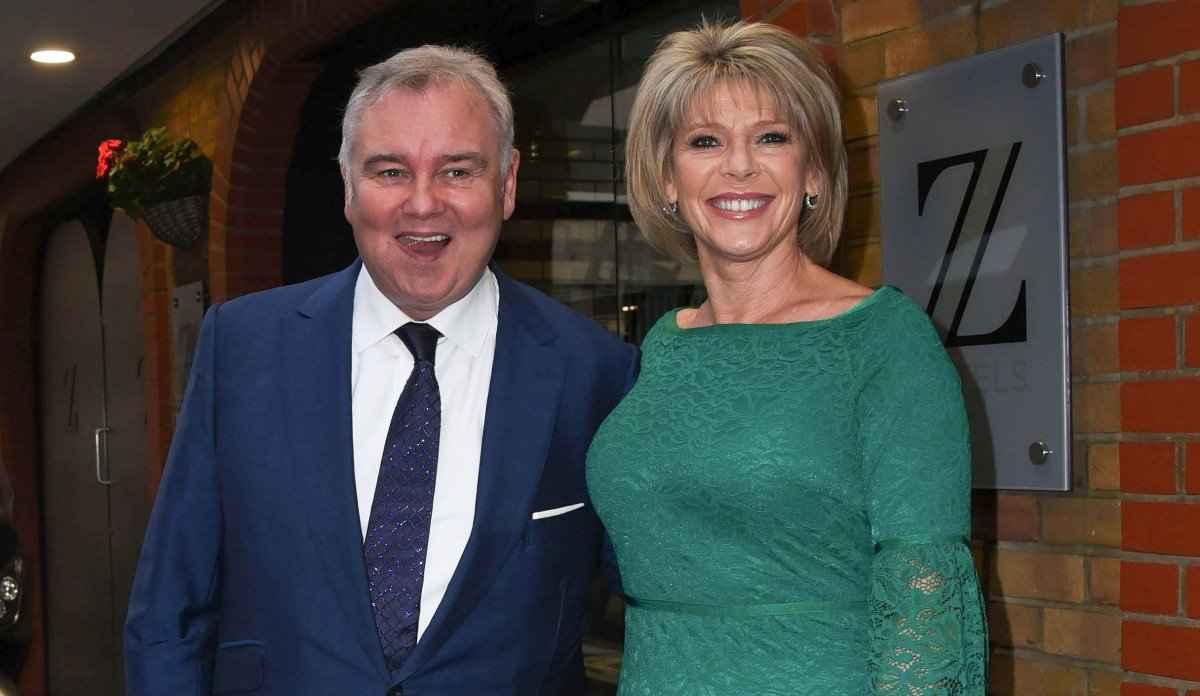 Eamonn Holmes responds to I'm A Celeb's Emily Atack's impression of him