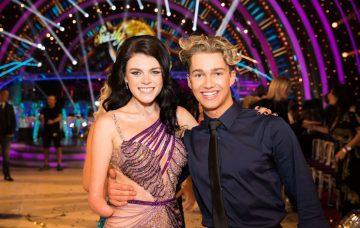 Strictly's Lauren Steadman and AJ Pritchard (Credit: BBC)