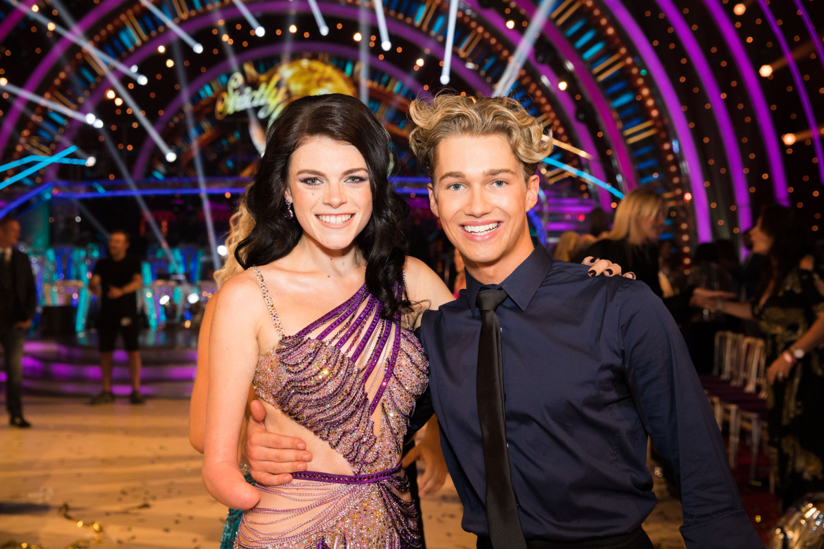 Strictly's Lauren Steadman and AJ Pritchard (Credit: BBC)