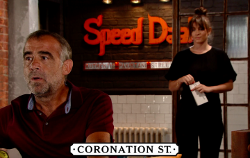 Sophie and Kevin Webster in Coronation Street