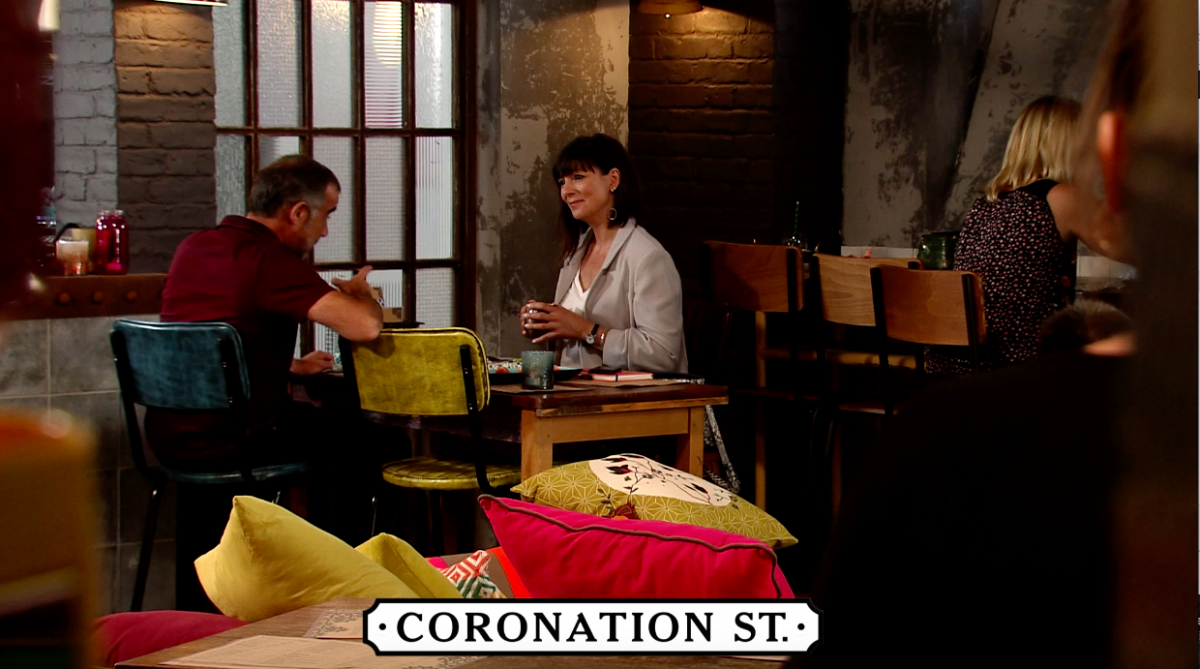 Paula and Kevin have a date in Coronation Street