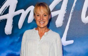 Sally Dynevor, Celebrity Blue Carpet arrivals for Cirque du Soleil - Amaluna