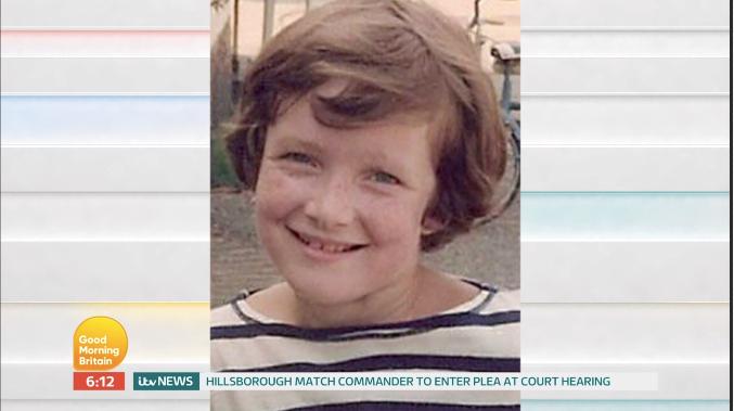 Piers Morgan as a kid