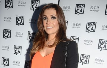 Kym Marsh, Celebrities Attend The Barca Launch In Manchester