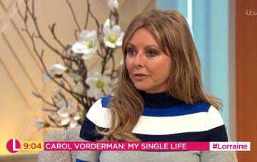 Carol Vorderman on Lorraine