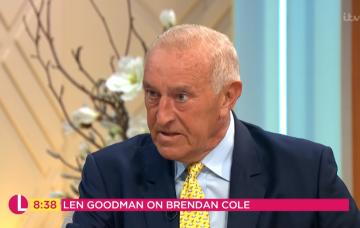 Len Goodman on Lorraine