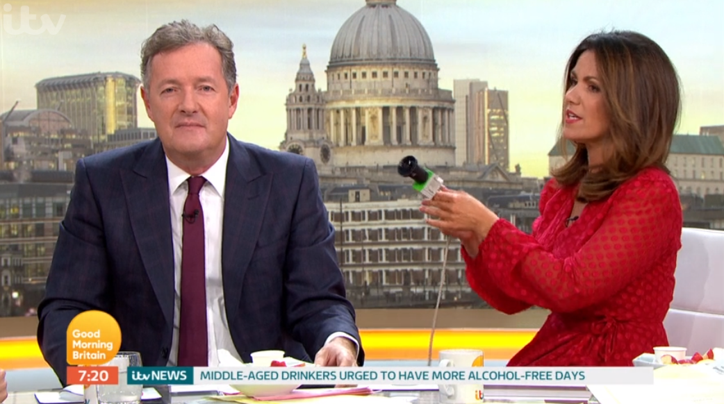 Susanna and Piers on GMB