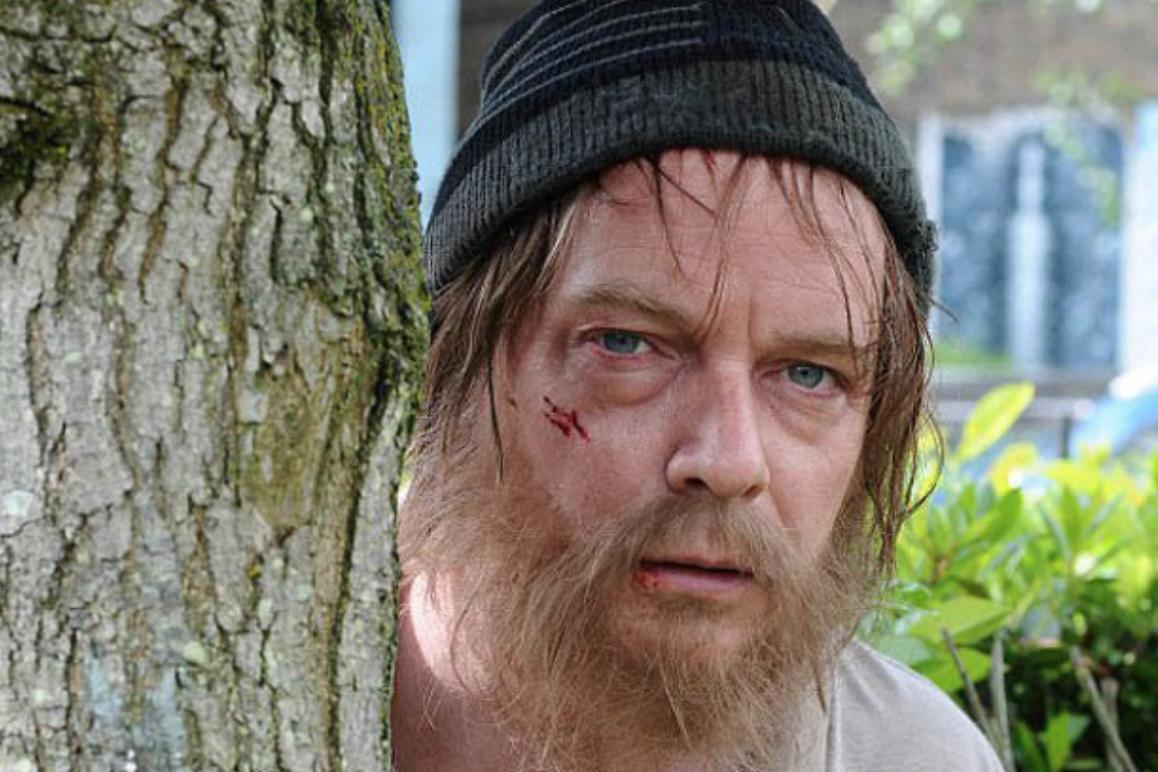Homeless Ian Beale