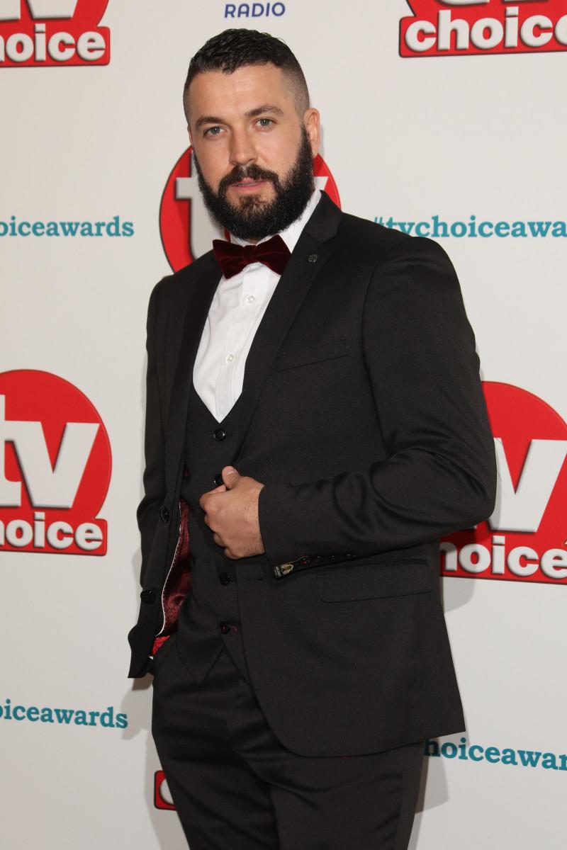 Shayne Ward, The TVChoice Awards 2018 held at the Dorchester Hotel - Arrivals