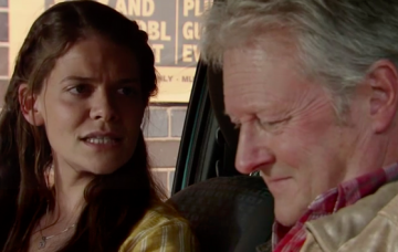 Jim McDonald and daughter Hannah ITV