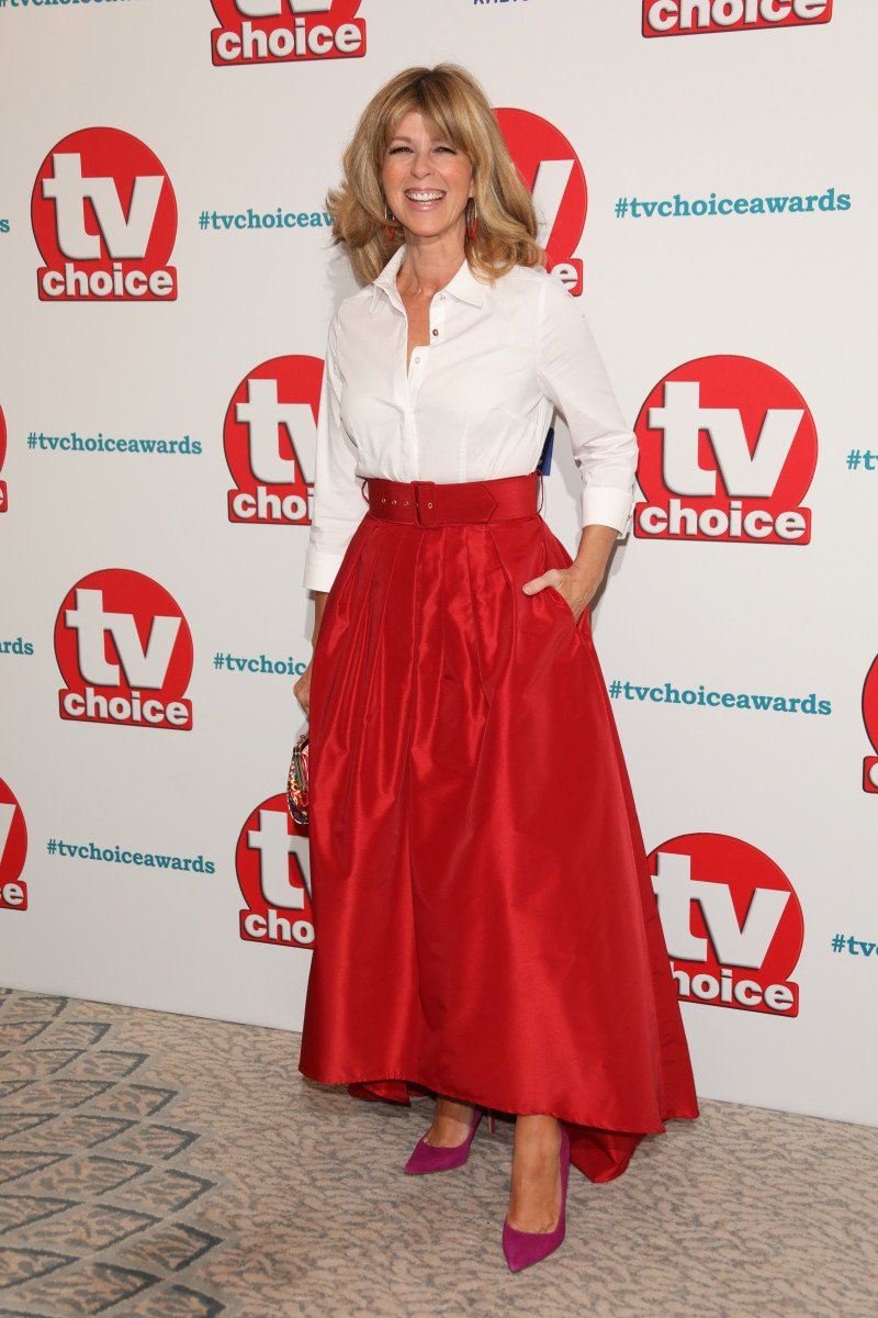 Kate Garraway at The TVChoice Awards 2018