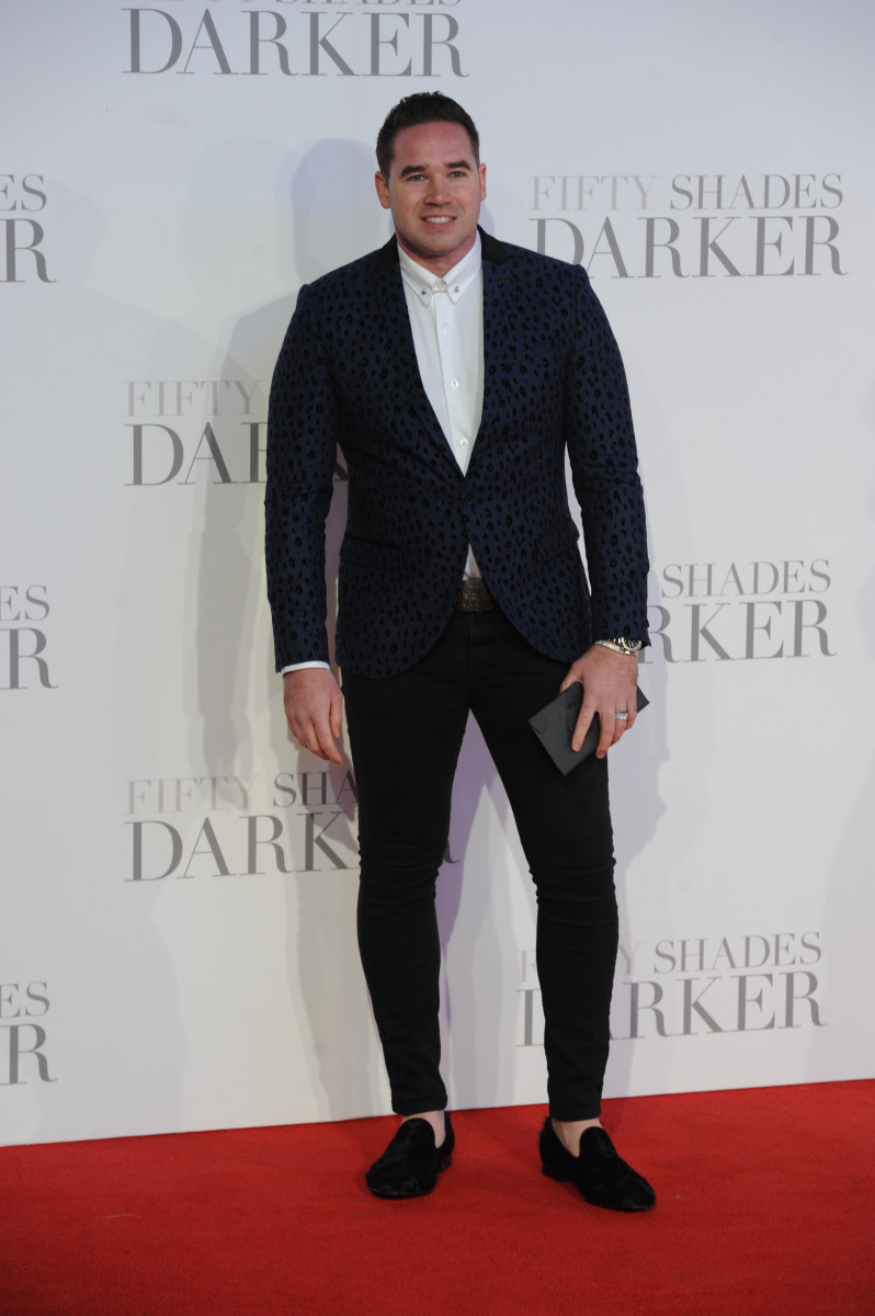 Kieran Hayler at The UK Premiere of 'Fifty Shades Darker'