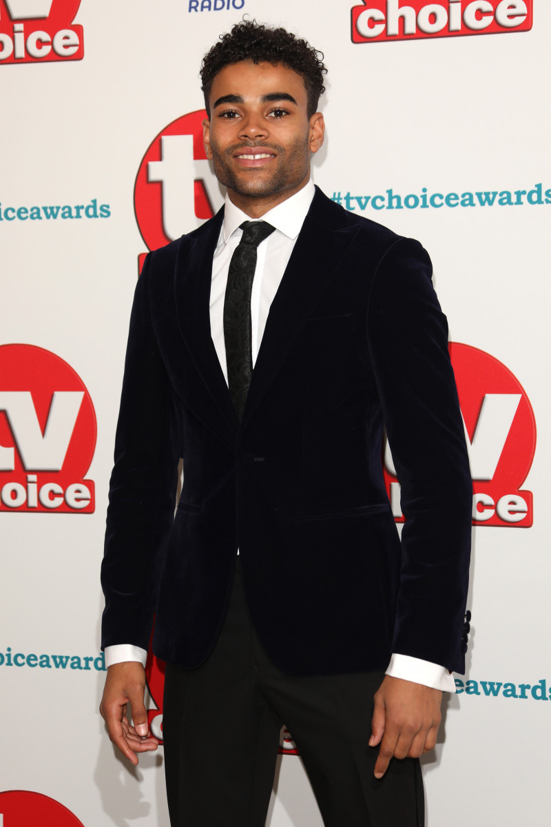 Malique Thompson-Dwyer at The TVChoice Awards 2018