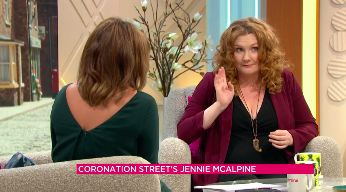 Jennie McAlpine on Lorraine