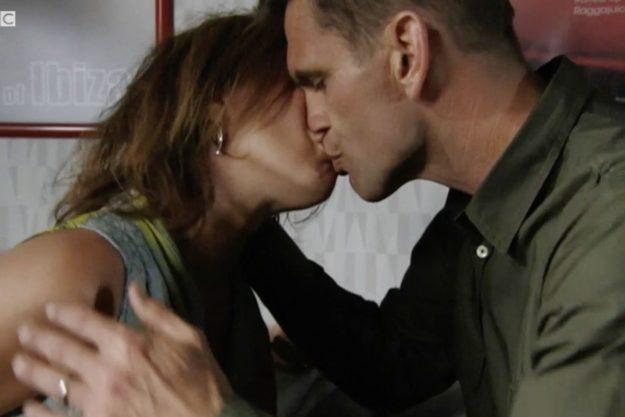 Jack Rainie kiss