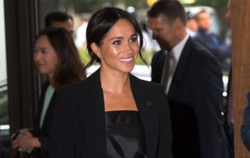 The Duke and Duchess of Sussex arrive at the WellChild Awards