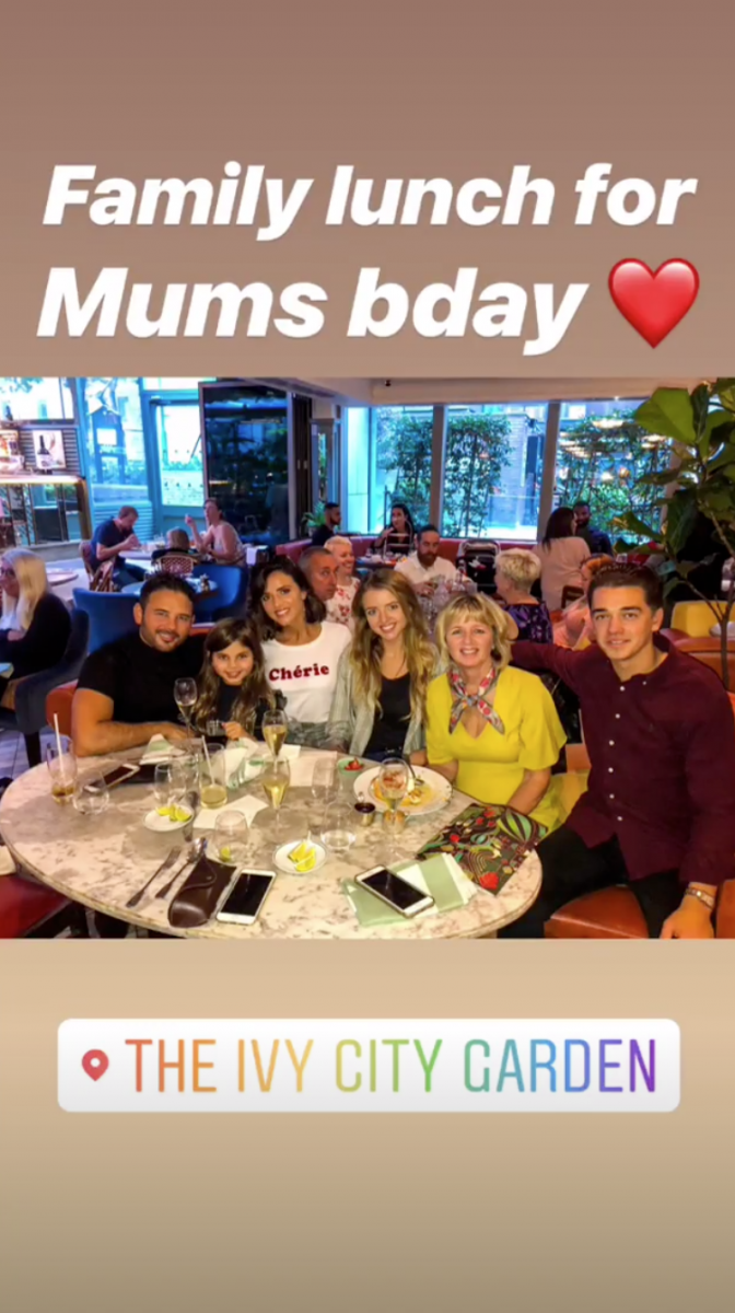 Lucy Mecklenburgh Ryan Thomas Instagram