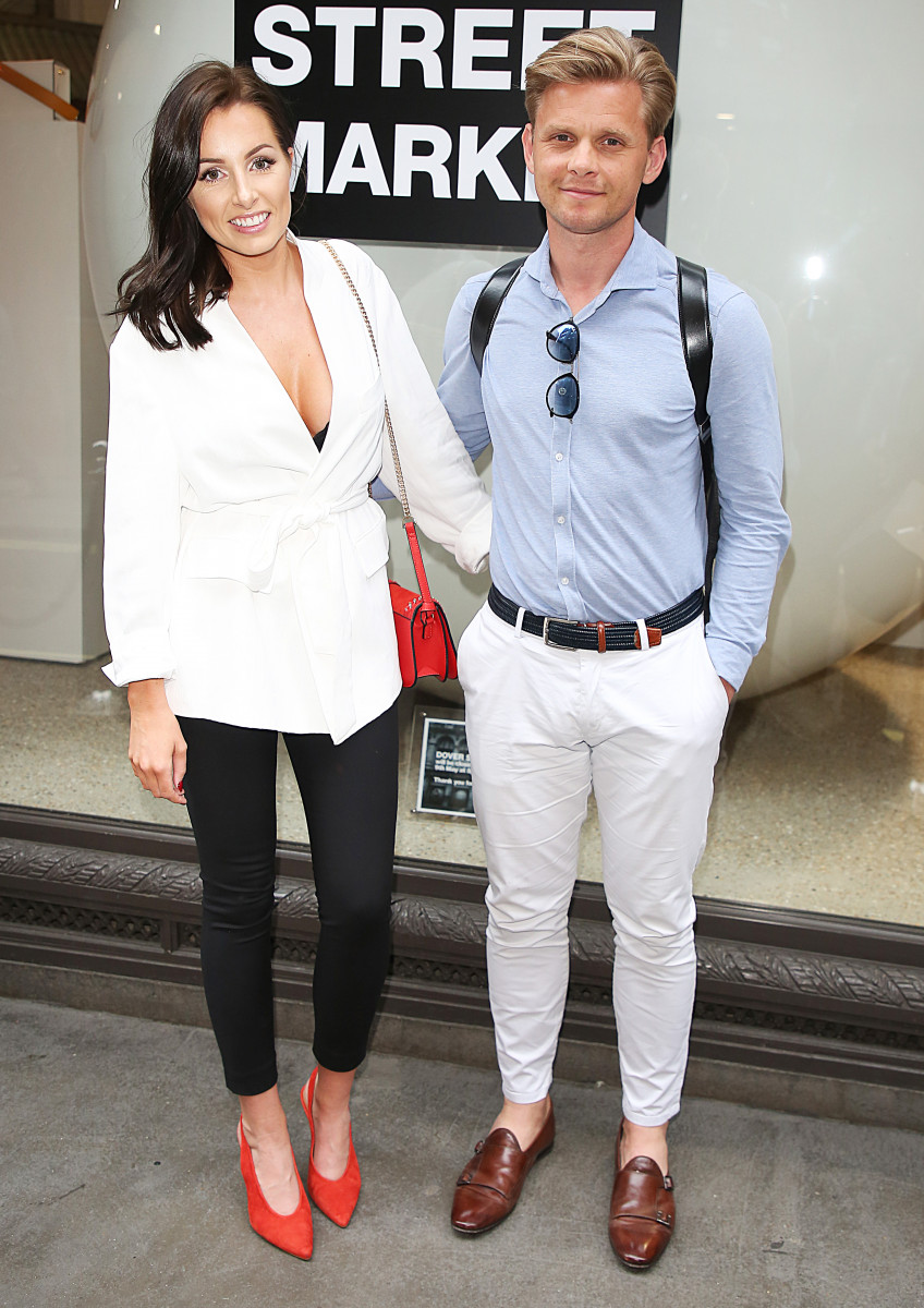 Kate Dwyer and Jeff Brazier ,Hello! Magazine x Dover Street Market - 30th Anniversary Party