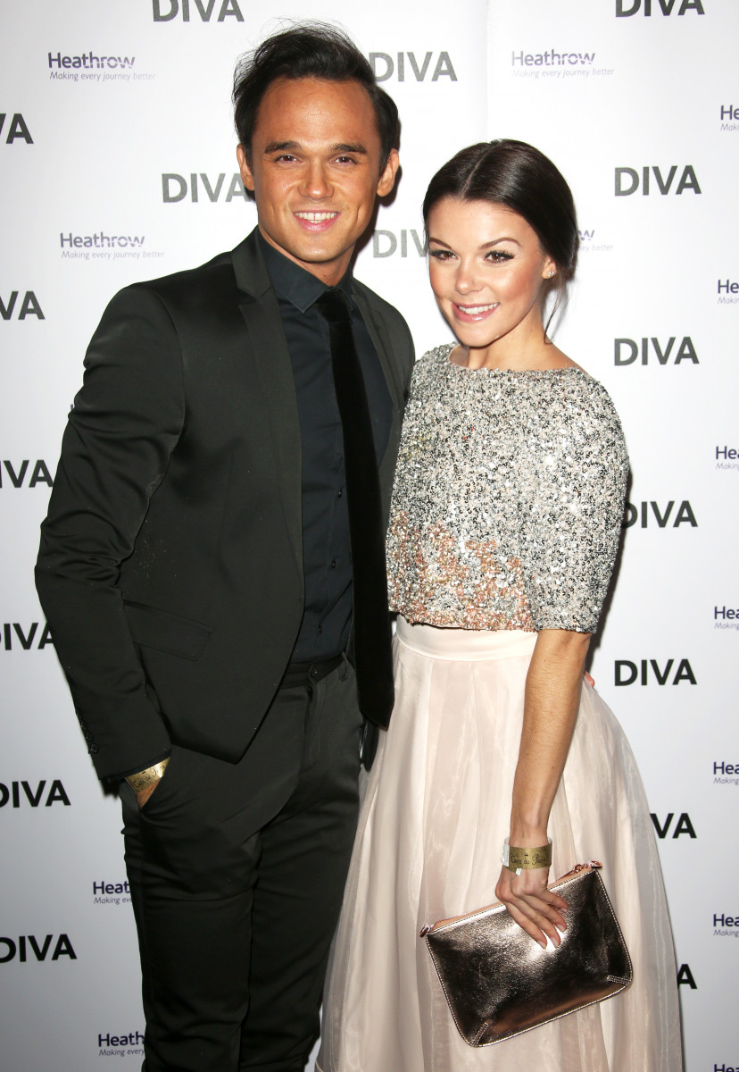 Gareth Gates, Faye Brookes DIVA 250 Awards