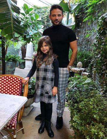 Ryan Thomas and daughter Scarlett