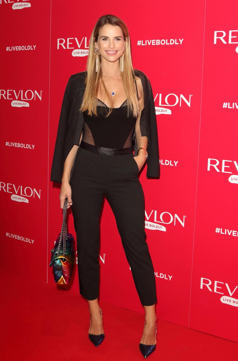 Vogue Williams, Adwoa Aboah x Revlon Live Boldly party